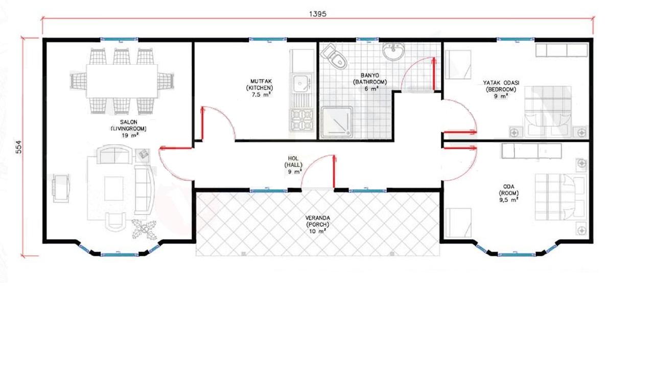 80-m2-tek-katli-prefabrik-ev-tip1