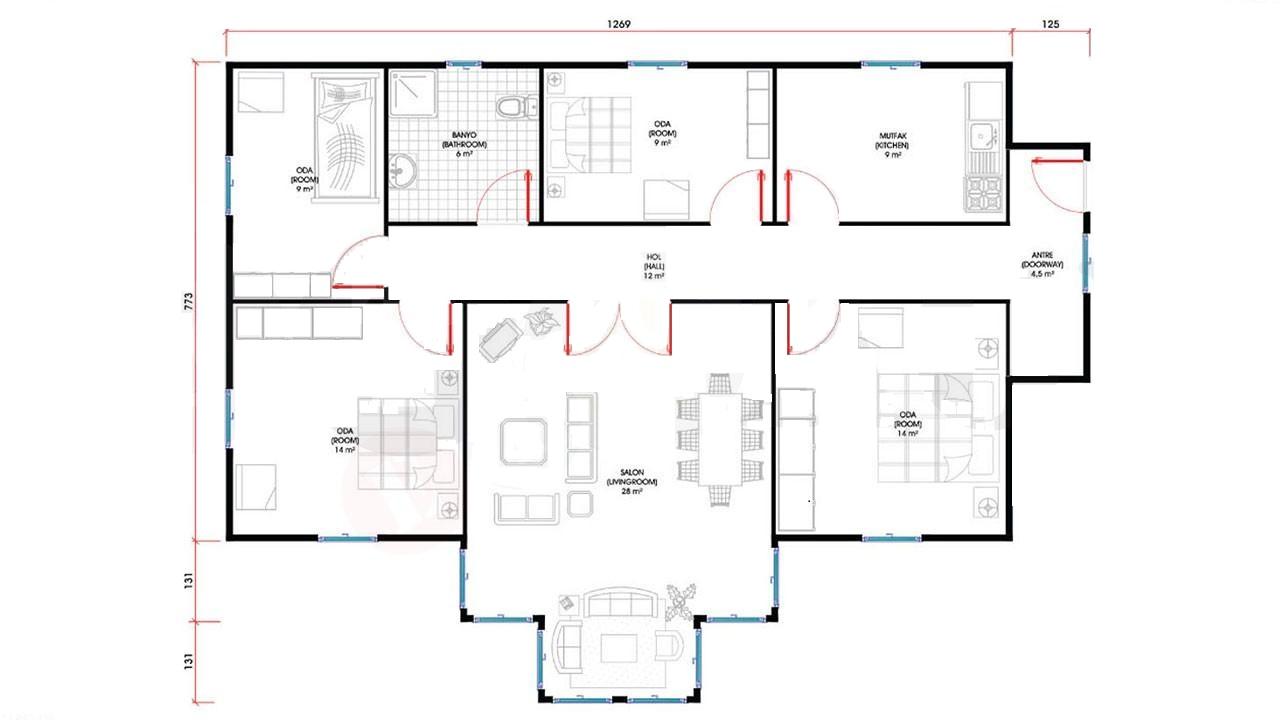 115-m2-tek-katli-prefabrik-ev