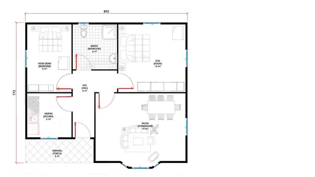 69-m2-tek-katli-prefabrik-ev